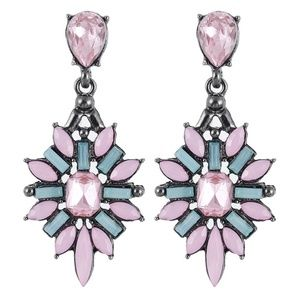 *ARALUEN* Pink x Blue Fashion Dangle Drop Earrings